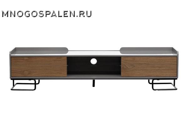 Тумба под телевизор серая 40AD-CB100 купить в салоне-студии мебели Барселона mnogospalen.ru много спален мебель Италии классические современные